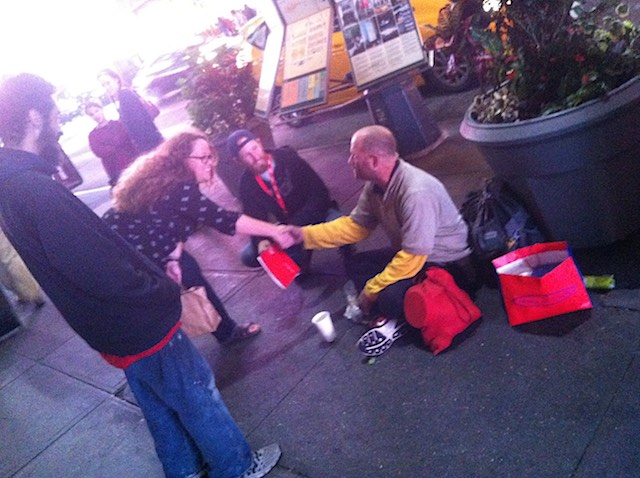 Attending to homeless in NYC
