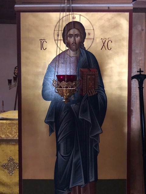Icon from Holy Archangel Michael Monastery, Abiquiu, NM
