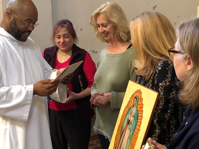 Holy Cross Icon Blessing