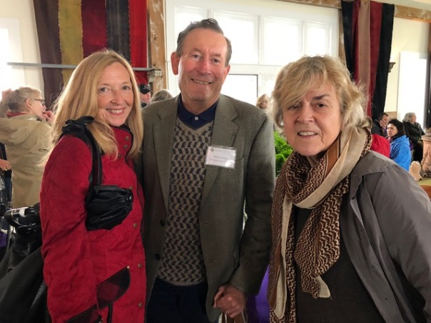 """Michael and Christine with author Jane Garmey at book signing for Mick's new book """"City Green"""""""