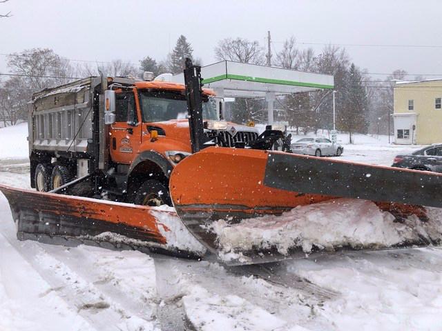 New York snow plough